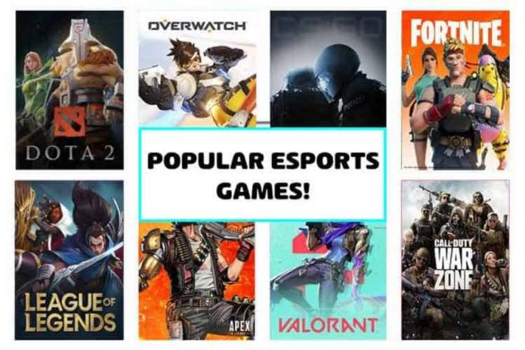 eSports Games to Play in 2021