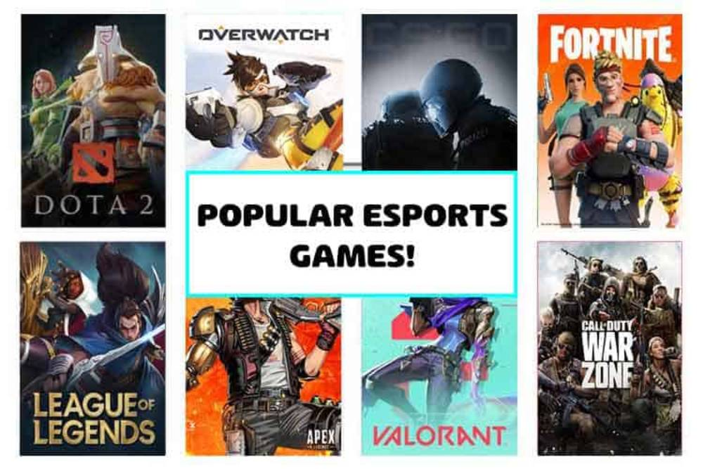 TOP-5 eSports Games to Play in 2021